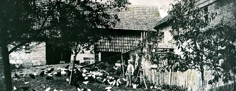 Weidelshof früher